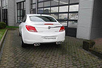 Steinmetz дуплекс выхлопная банка Opel Insignia седан опель инсигния ирмшер ремус штайнмец Irmscher Remus