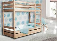 Кровать детская деревянная двухъярусная Донни, фото 1