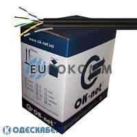 Кабель витая пара для наружных работ КППт-ВП (100) 4*2*0,51 (UTP-cat.5E)