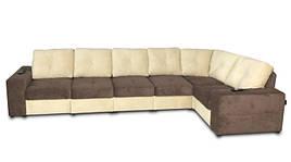 Модульный диван Калифорния В1-382 с двумя электро-реклайнерами