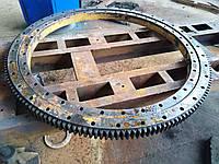 Ремонт механізму поворотного крану
