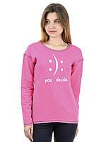 Женский свитшот IRVIC 44 Розовый IrC-S2033-44, КОД: 269752