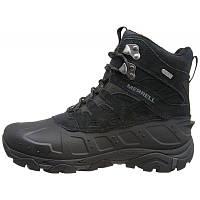 Ботинки Оригинальные мужские зимние Merrell MOAB POLAR WATERPROOF J41917  BLACK 05a8a1978ca5e