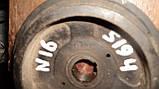 Б/у шкив коленвала нисан альмера н16, фото 4