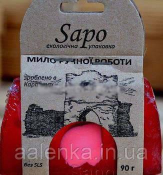 SAPO Мыло натуральное парфюмированное Yoshi Yahmamoto (Woman), 90г, SAPO
