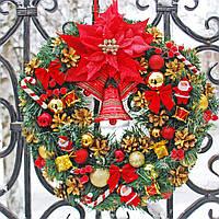 Новогодний (Рождественский) венок №4