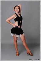 Юбка для танцев с бахрамой «Руно»