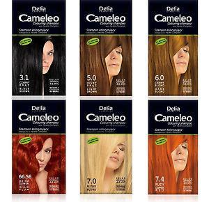 Шампунь оттеночный Delia – Cameleo 3.1 -черный, 40 мл