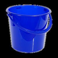 Ведро 10 л круглое синее