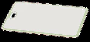 Доска разделочная Irak Plastik Прямая бело-зеленая