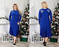 Праздничное платье большего размера