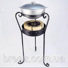 Кованые красивые комплекты для приготовления на углях