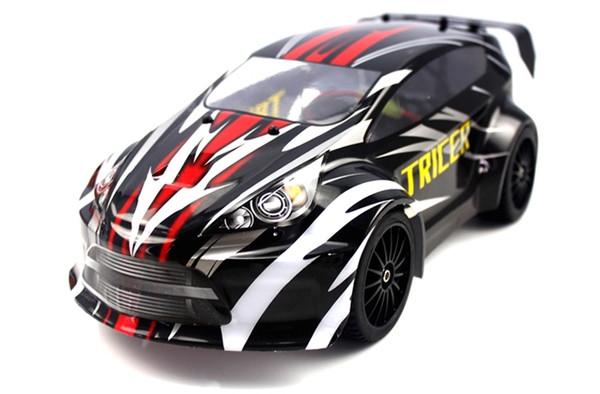 Машинка на радиоуправлении шоссейная 1:18 Himoto Tricer (черная)