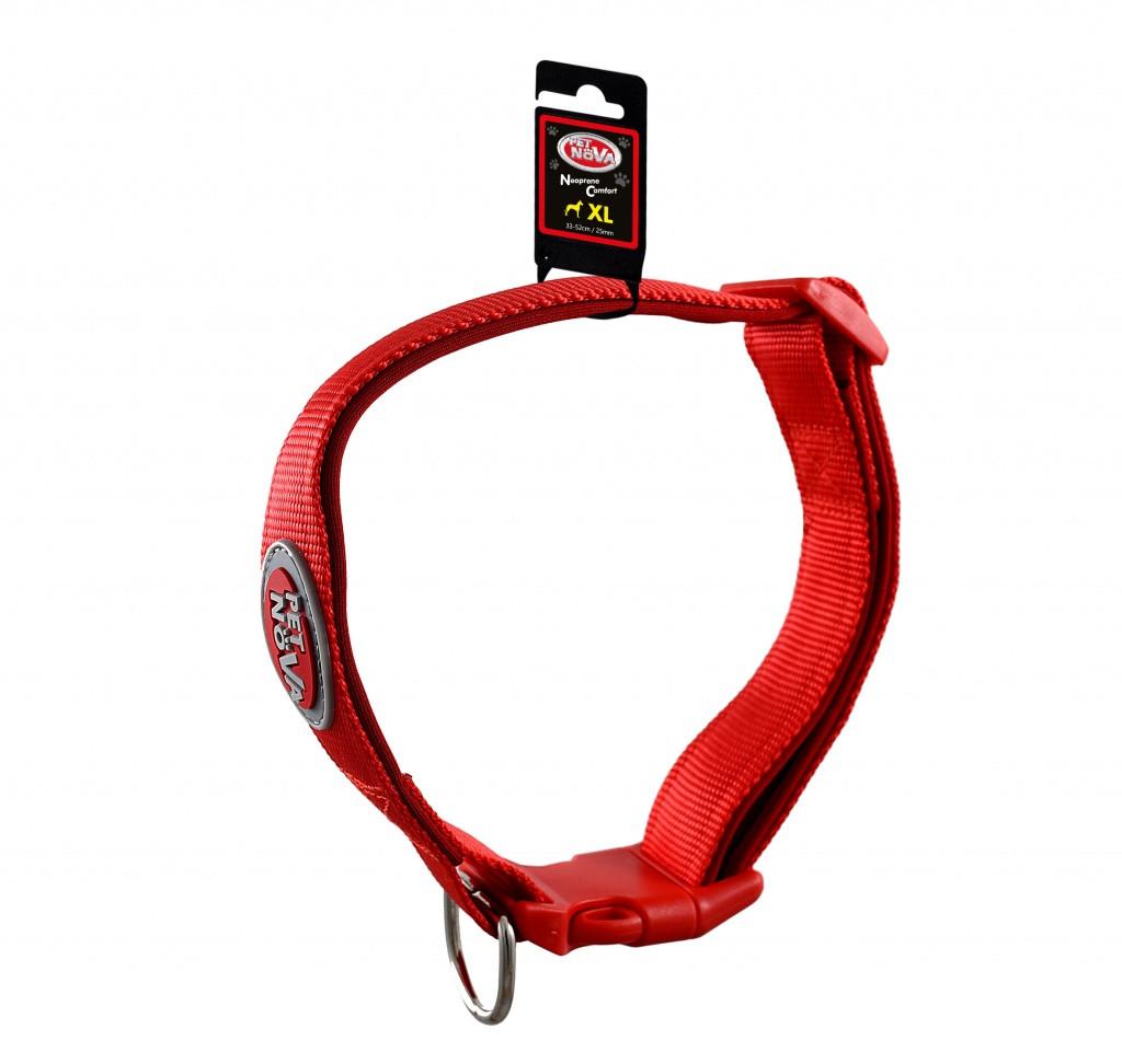 Ошейник Pet Nova Neoprene Comfort XL Красный