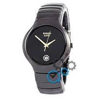 Стильные часы Rado Jubile Black/Black-Gold (копия)