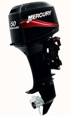Двухтактный лодочный мотор Mercury 50 ELPTO