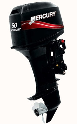 Двухтактный лодочный мотор Mercury 50 EO