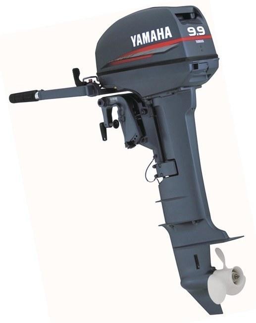 Двухтактный лодочный мотор Ямаха 9.9