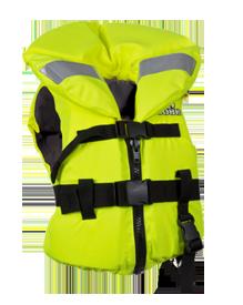 Детский спасательный жилет Jobe желтый и оранжевый