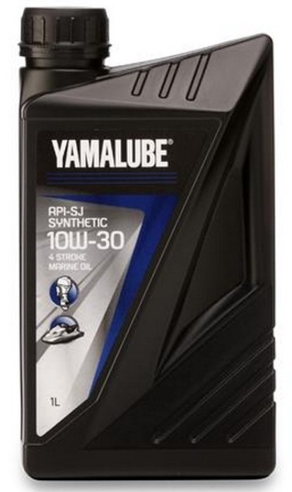 Масло 10W30 1 литр для 4-х тактных лодочных моторов Yamalube FC-W Super Synthetic