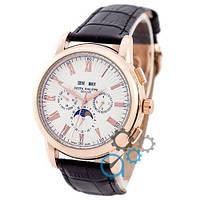 Наручные Механические часы Patek Philippe Grand Complications Rome AA Black-Gold-White  (копия)