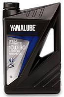 Масло для 4-х тактных лодочных моторов 4 литра 10W30 Yamalube Semi-Synthetic