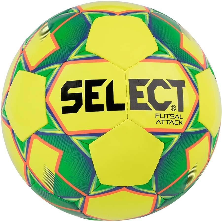 Мяч для футзала Select Futsal Attack  №4 (yellow-green)