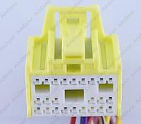 Разъем электрический 24-х контактный (24-20) б/у , фото 1