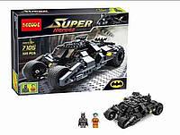 "Конструктор Decool 7105 ""Batman Tumbler"" 325 деталей  (аналог Lego Super Heroes 7888)"