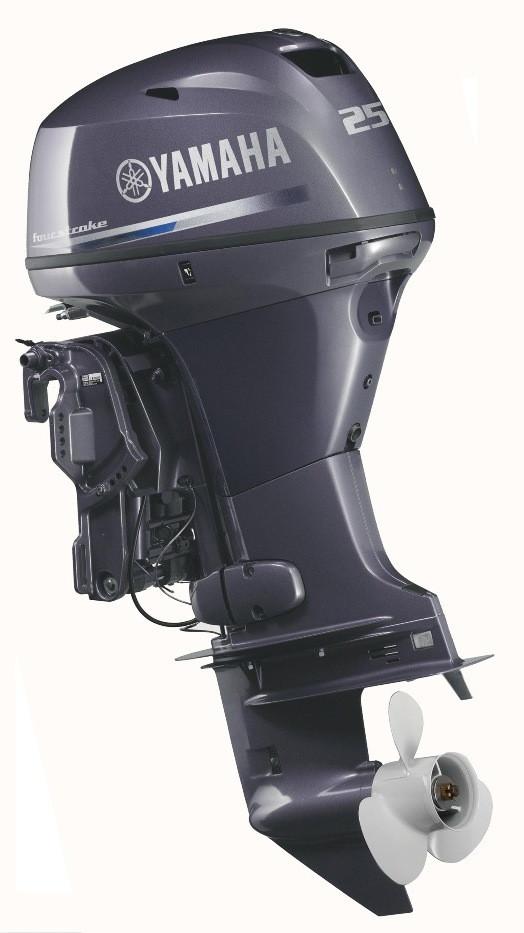 Четырехтактный лодочный мотор Yamaha F25DES