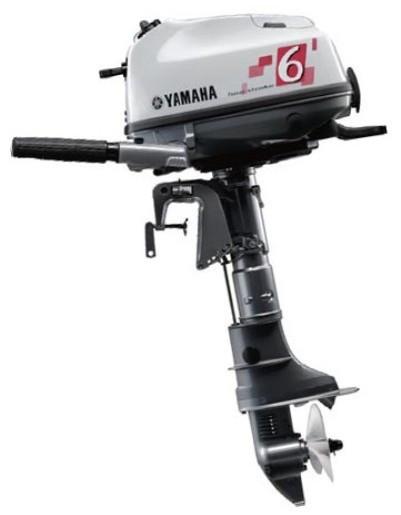 Четырехтактный лодочный мотор Ямаха 6 (F6CMHS)