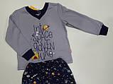 Пижама теплая для мальчика р.98 ТМ Бемби, фото 2