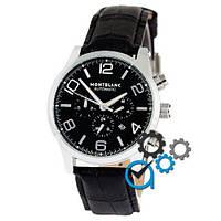Наручные часы Montblanc TimeWalker Automatic Black-Silver-Black (копия)