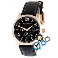 Наручные часы Montblanc TimeWalker Automatic Black-Gold-Black (копия)