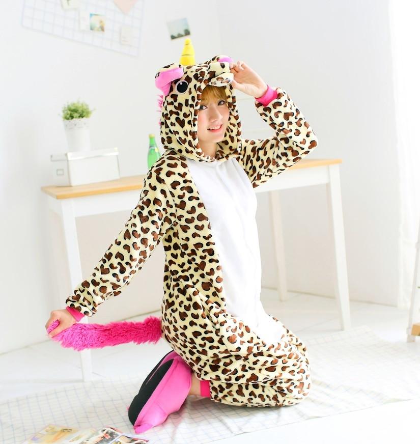 """Пижама кигуруми """"Леопардовый единорог"""""""