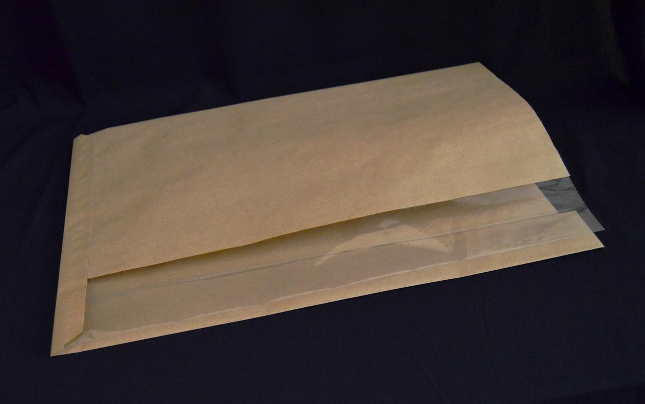 Бумажный пакет с боковым окном для хлебобулочных изделий