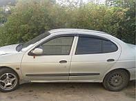 Дефлекторы окон, ветровики Рено Меган, Renault Megane I sd 1995-2002