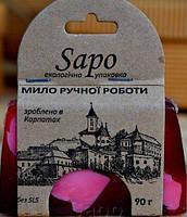 Мыло натуральное Сирень, 90г, SAPO