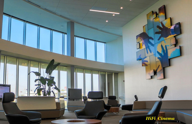 Planar Mosaic Architectural LCD Display - diagonal vertical horizontal orientation