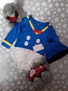 Боди и шапочка для мальчика Disney baby 9-12мес.