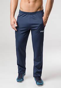 Мужские эластичные брюки 10280 джинс-кр-белый