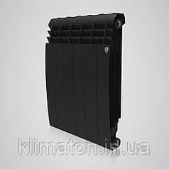 Радиатор Royal Thermo BiLiner 500 Noir Sable - 6 секц. (чорний) (НС-1170746)