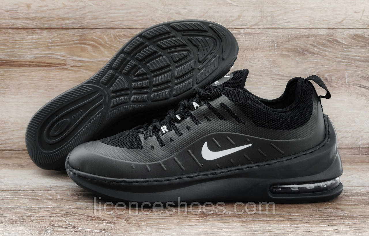 35ee84c3 Подростковые, детские кроссовки Nike Air Max Axis Черные Прошитые -  Интернет магазин мужской и женской