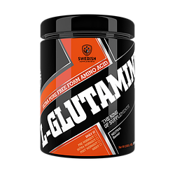 Swedish supplements - 100% L-Glutamine 400g