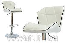 """Кресло кухонное- барне """"Росси"""" Цвет: белый"""