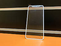 Защитное стекло 3D Carbon  для iPhone X White, фото 1