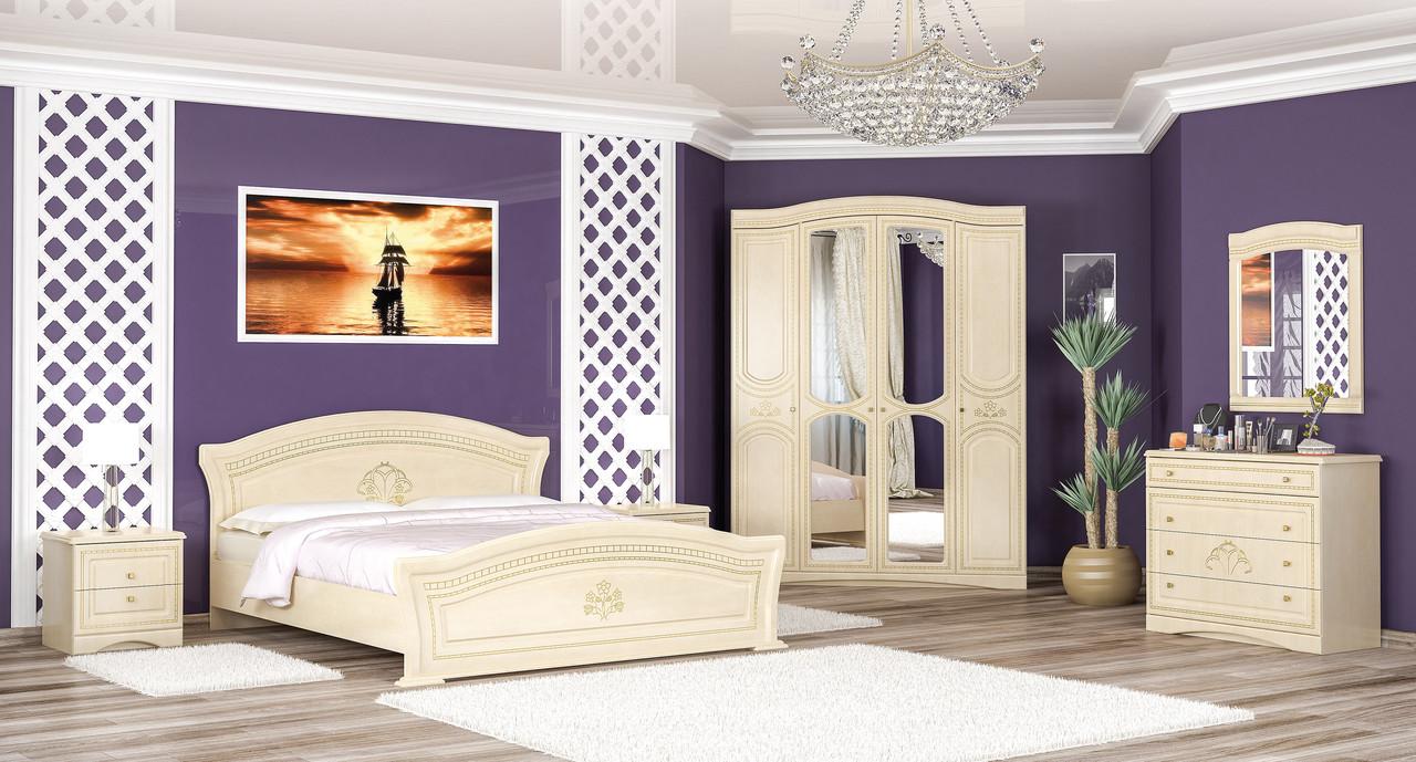 Спальня Милано/Мілано береза (4Д )  Мебель-сервис