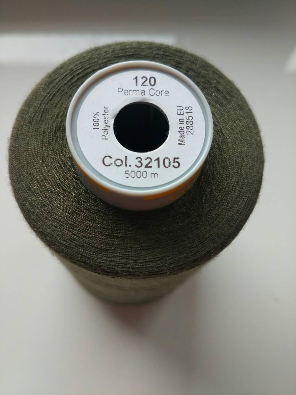 Нитки Gutermann Perma Core 32105/120/ хакі
