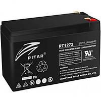 Акумулятор AGM RITAR RT1272B 12V 7.2 Ah