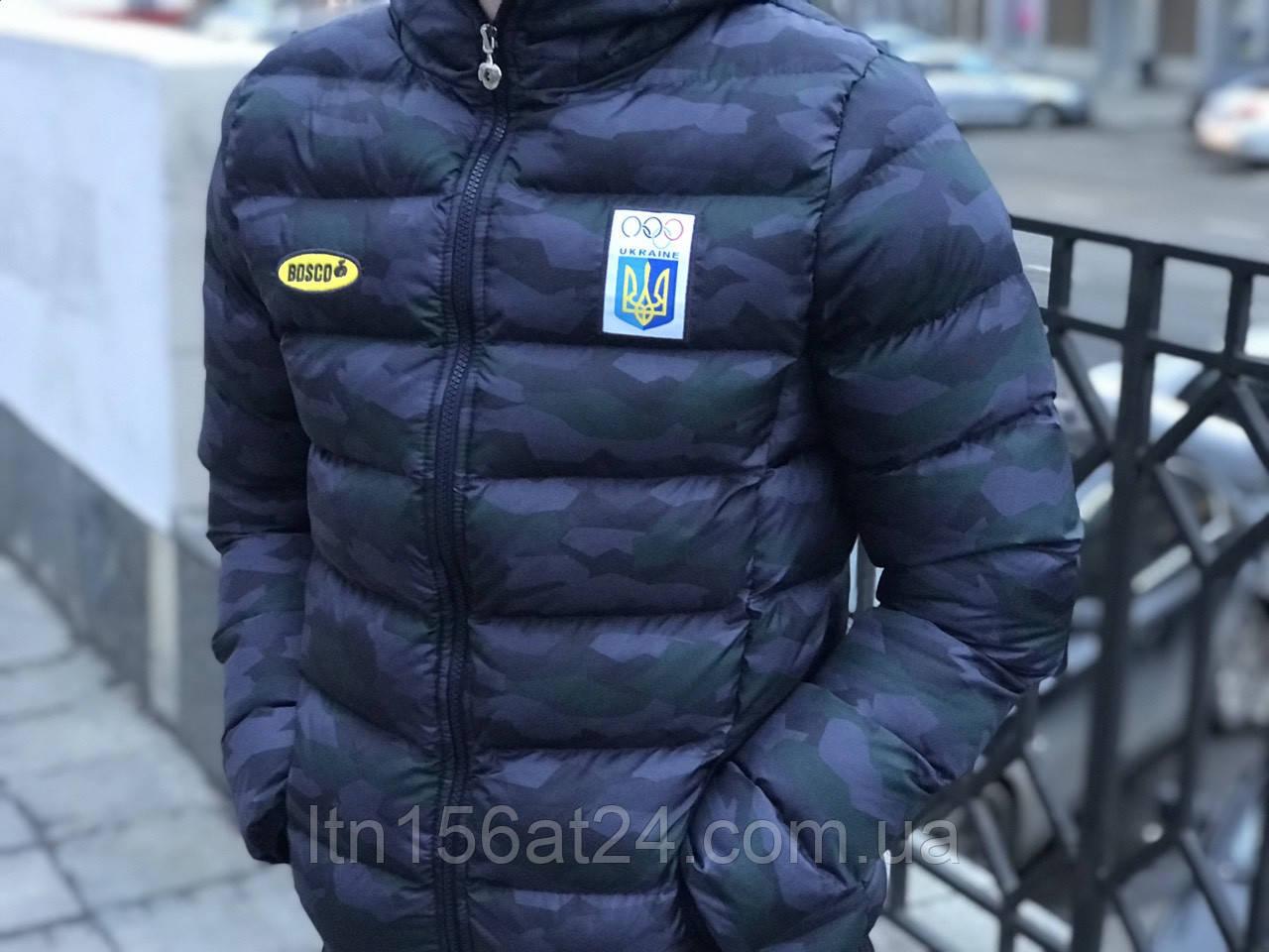 Зимові куртки Bosco Sport Україна камуфляж limited edition (2021)